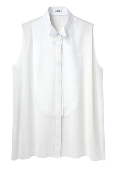 Acne sleeveless blouse