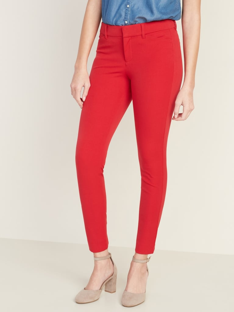Old Navy All-New Mid-Rise Pixie Ankle Pants