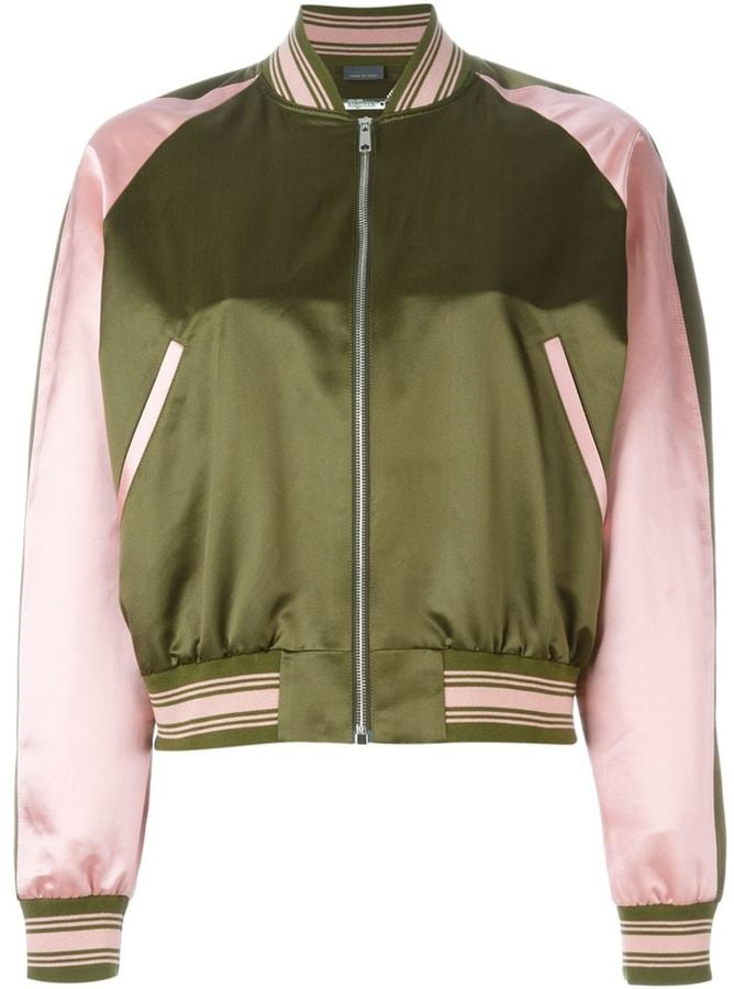 Alexander McQueen Embroidered Bomber Jacket ($2,585)