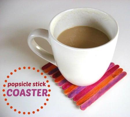 Popsicle Stick Coaster