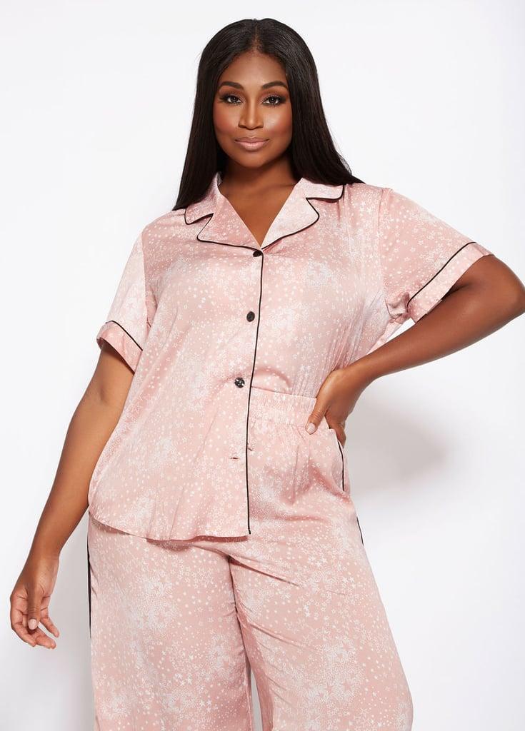 Ashley Stewart Satin Pajamas