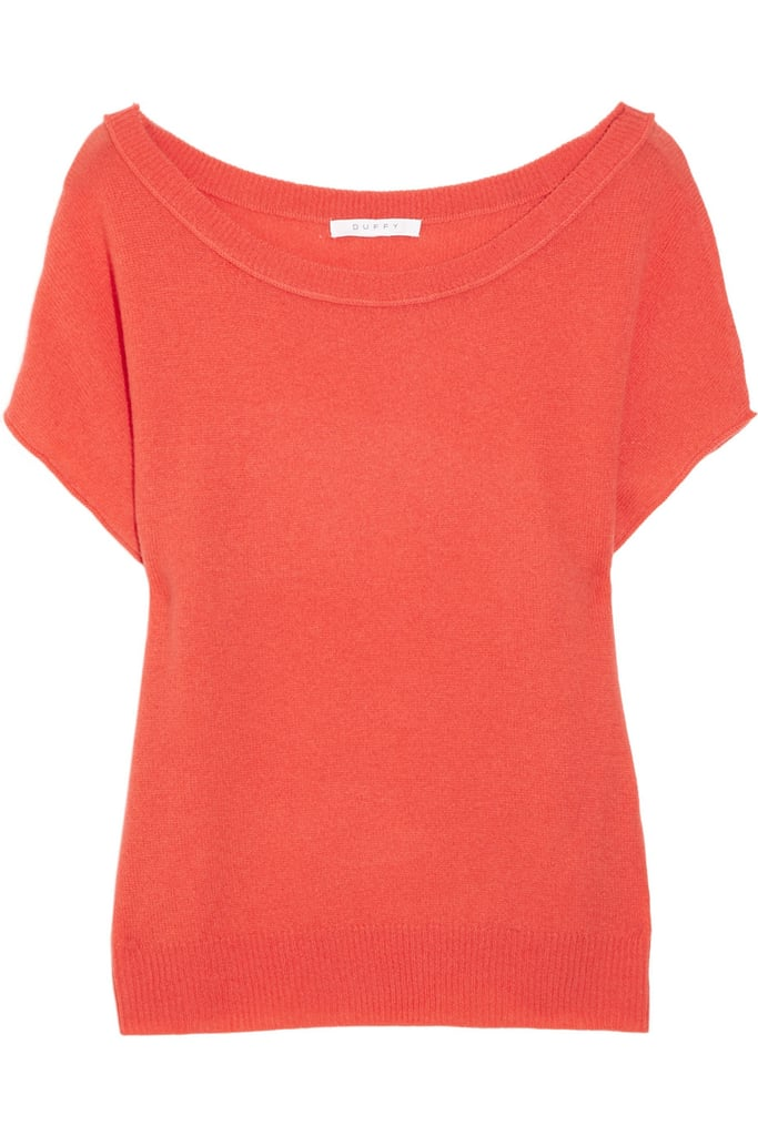 This piece has a slightly off-the-shoulder fit for a sexy, summery vibe.  Duffy Cashmere Sweater ($250)
