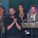Doria joined Meghan for her first Invictus Games with Harry in Toronto last year.