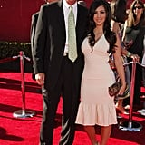 Kim Kardashian accompanied her stepdad, Bruce Jenner, at the July 2006 ESPY Awards in LA.