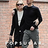 Kate Bosworth took a stroll with boyfriend Michael Polish in NYC.