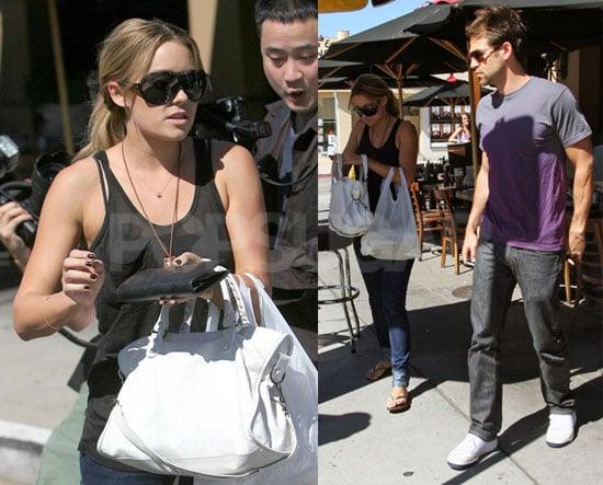Photos of Lauren Conrad and Kyle Howard in LA 2008-10-09 05:00:00