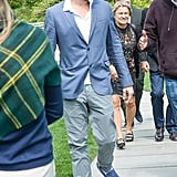 Leonardo DiCaprio attended the Brant Foundation Art Study Center for a special Andy Warhol exhibit.  Source: Billy Farrell/BFAnyc.com