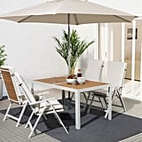 Själland Table With 4 Reclining Chairs