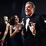 Julia Louis-Dreyfus and Will Ferrell at the 2020 Oscars