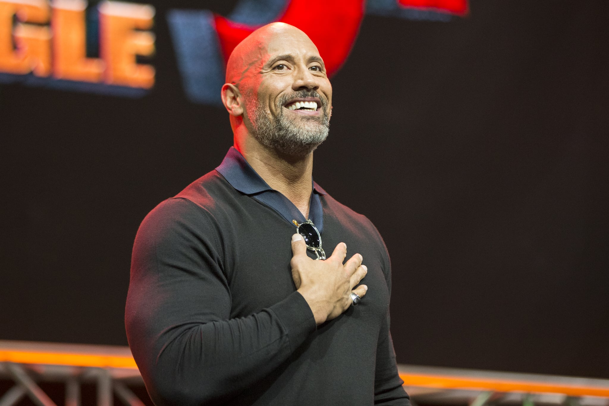 LOS ANGELES, CA - OCTOBER 28:  Actor Dwayne Johnson onstage at ENTERTAINMENT WEEKLY Presents Dwayne