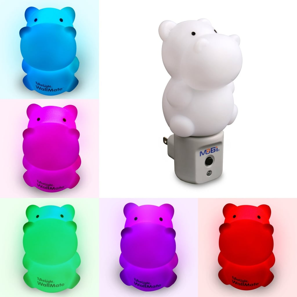 WallMate LED Hippo Night Light