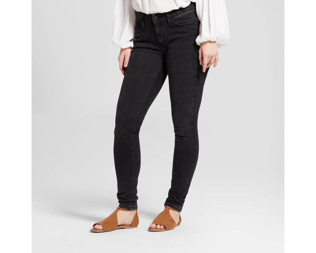 Women's Mid-Rise Curvy Skinny Jeans