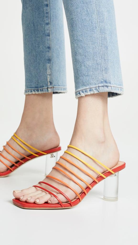 d534bc2e Rejina Pyo Zoe Heel Sandals | Best Strappy Sandals 2019 | POPSUGAR ...