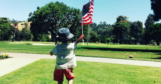Justin Timberlake's Son Silas, Drew Barrymore's Daughters and Other Celebrity Kids Get Patriotic for July 4th
