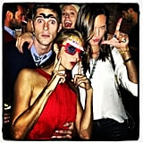 Stacy Keibler celebrated her birthday with Dave and Odette Annable. Source: Instagram user stacykeibler