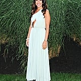 At the Devil's Heaven benefit for the Watermill Center, Jill Stuart was lovely in a pastel gown.