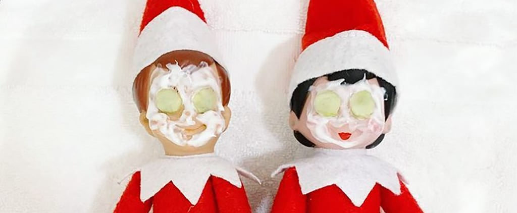 CrossFit, Smoothies, and More Healthy Elf on the Shelf Ideas
