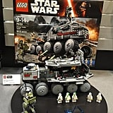 Lego is adding 25 new sets in 2016 that are inspired by classic Star Wars films, the new animated TV series, and Star Wars: The Force Awakens — plus a few scenes from the upcoming movie Star Wars: Rogue One — including the Clone Turbo Tank set ($110).