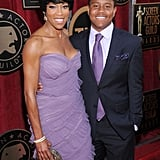 Regina King and Ian King arrive at the SAGs.