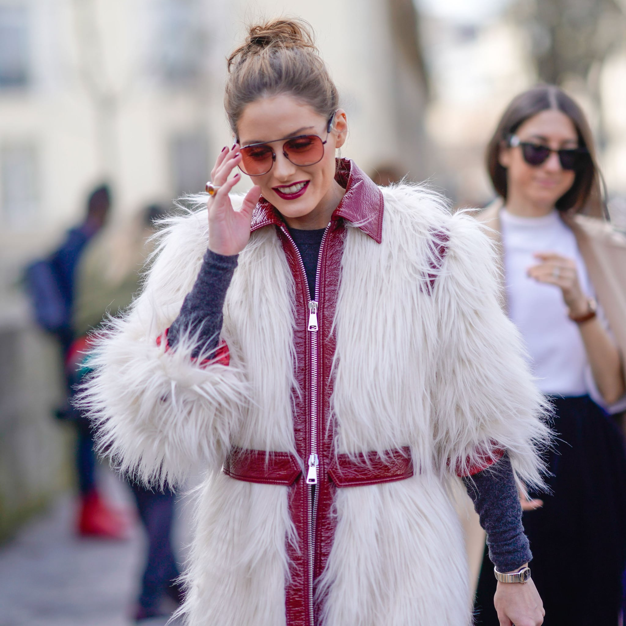 130f1c58ac20 Olivia Palermo Outfits at Fashion Week Fall 2018