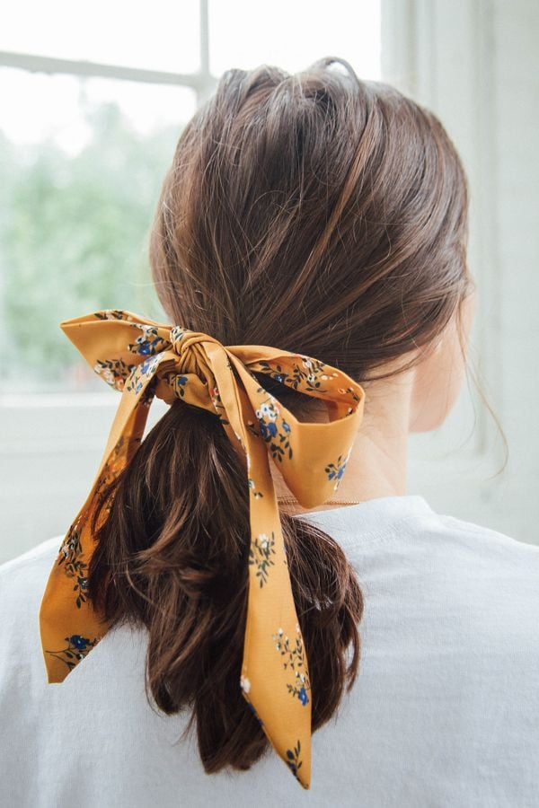 Darling Draped Bow Scrunchie
