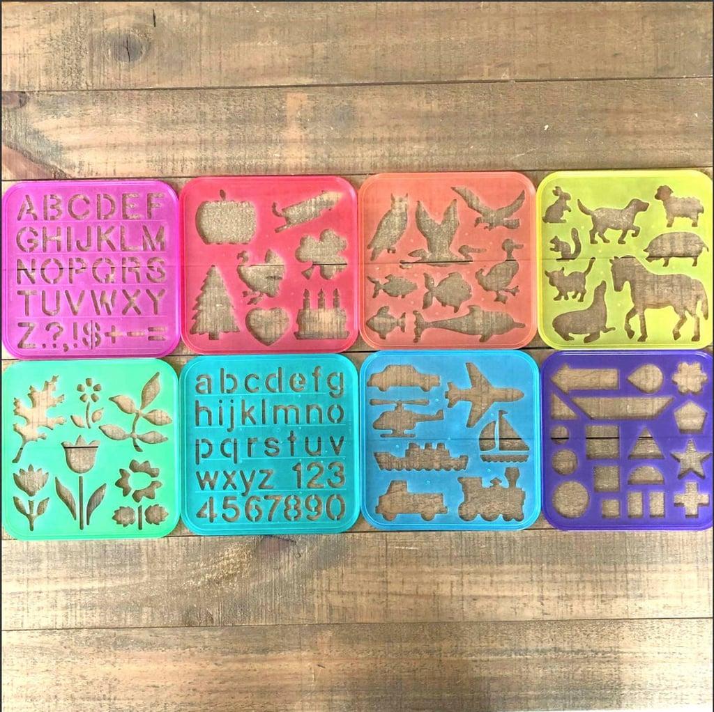 Tupperware Stencils