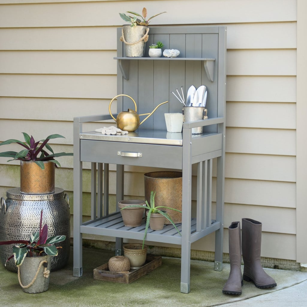 Belham Living Emery Wood Potting Bench