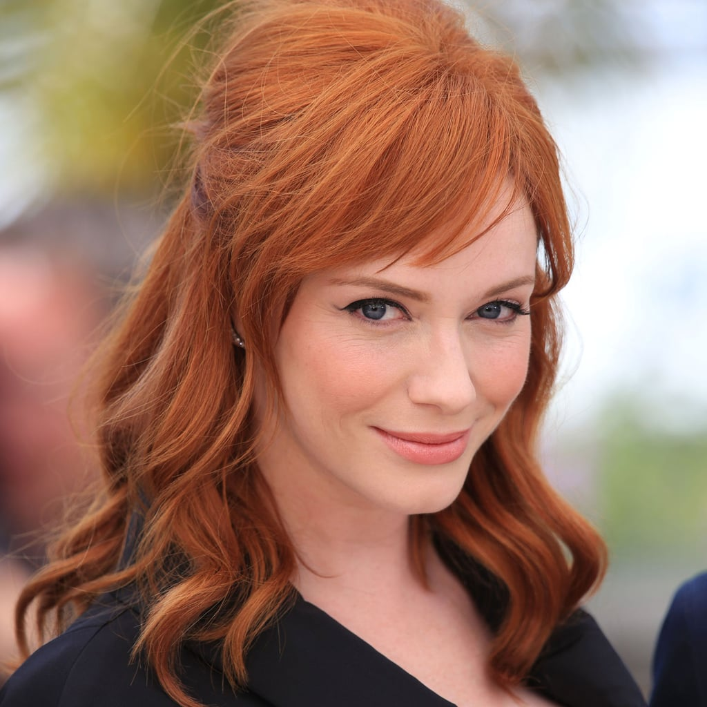 Christina Hendricks Hot Hair Colour Trends To Try Popsugar