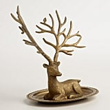 Gold Stag Jewelry Stand ($25)