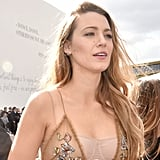 Blake Lively's Dior Dress at Paris Fashion Week 2018