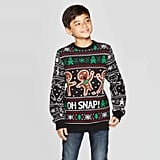 Well Worn Boys' Ginger Bread Ugly Christmas Sweater