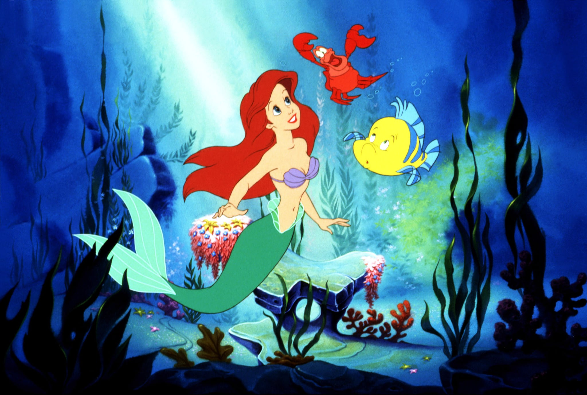 THE LITTLE MERMAID, 1989. photo:  Walt Disney Co. / Courtesy Everett Collection