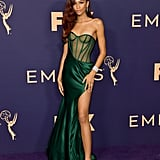 Zendaya at the 2020 Emmy Awards