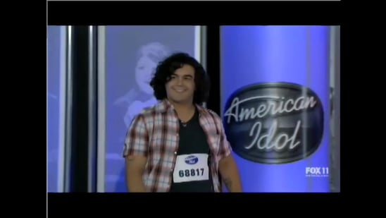 Video of Chris Medina American Idol Heartbreaking Story and Audition