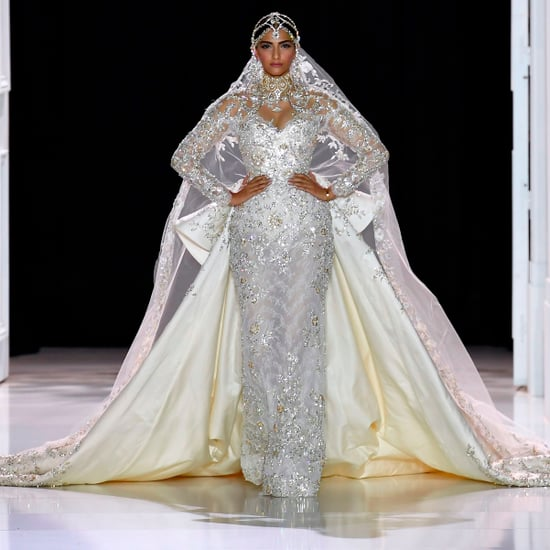 Sonam Kapoor at the Ralph and Russo Couture Show Autumn 2017