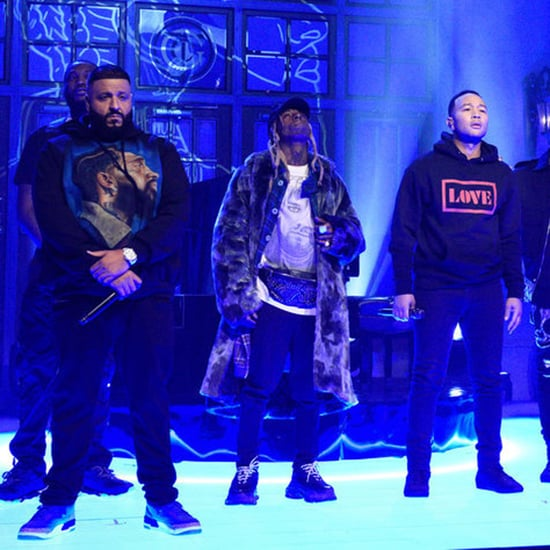 "DJ Khaled ""Just Us/Weather the Storm/Higher"" SNL Performance"