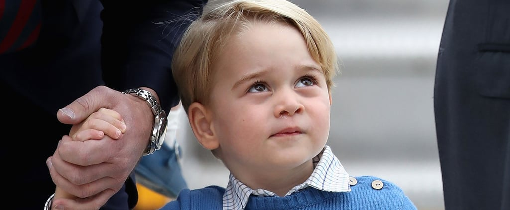 Meet the Only Person on Earth Who Isn't a Fan of Justin Trudeau: Prince George