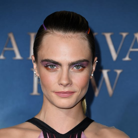 Cara Delevingne's Ribbon Hairstyle at Carnival Row 2019