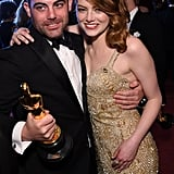 Pictured: Spencer and Emma Stone