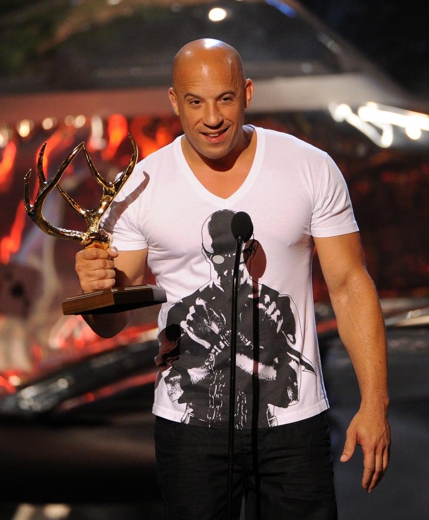 Vin Diesel won an award.