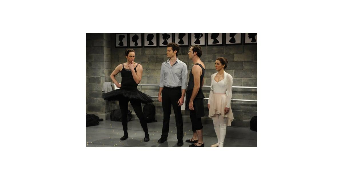 Jim Carrey spoofs Black Swan on SNL – SheKnows