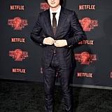 Joe Keery at Stranger Things Season 2 Premiere
