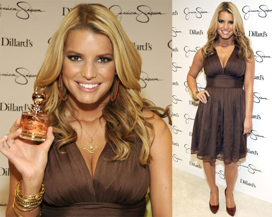 Photos of Jessica Simpson Launching Fancy Fragrance at Dillard's in Dallas