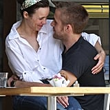 In 2008, Ryan and Rachel had a romantic lunch date in Toronto.