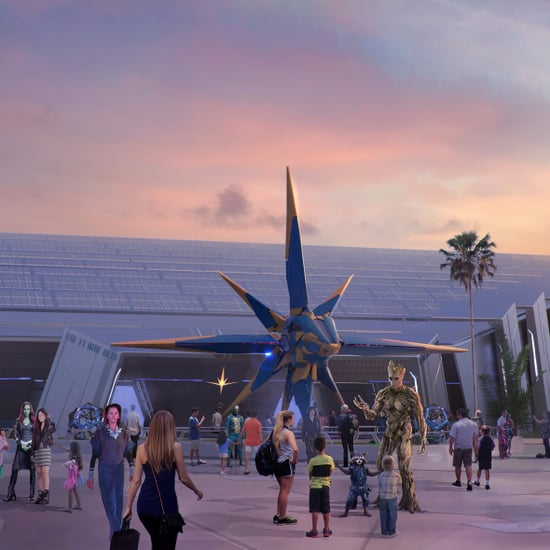Guardians of Galaxy Attraction at Disney World