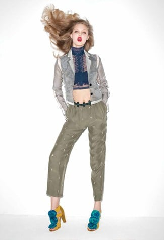 A Glimpse at Lindsey Wixson in the Terry Richardson-Shot Spring 2011 Opening Ceremony Lookbook
