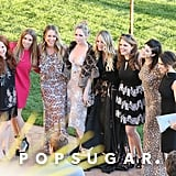 Amy Davidson, Haylie Duff, Kaley Cuoco, Briana Cuoco, and Lacey Chabert looked excited to be a part of Ali Fedotowsky's March 2016 wedding to Kevin Manno.