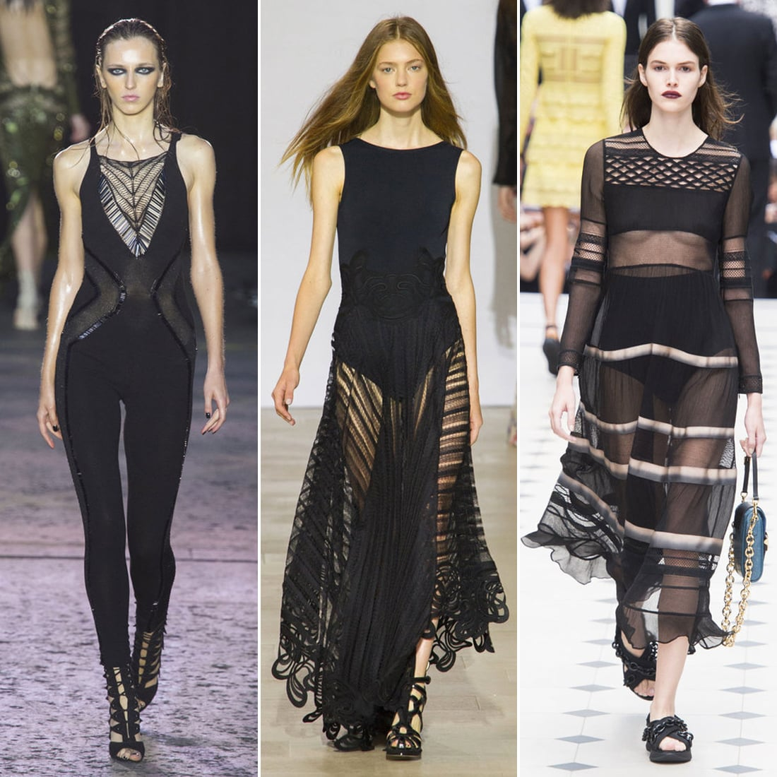 London Fashion Week Trends Spring 2016 Popsugar Fashion