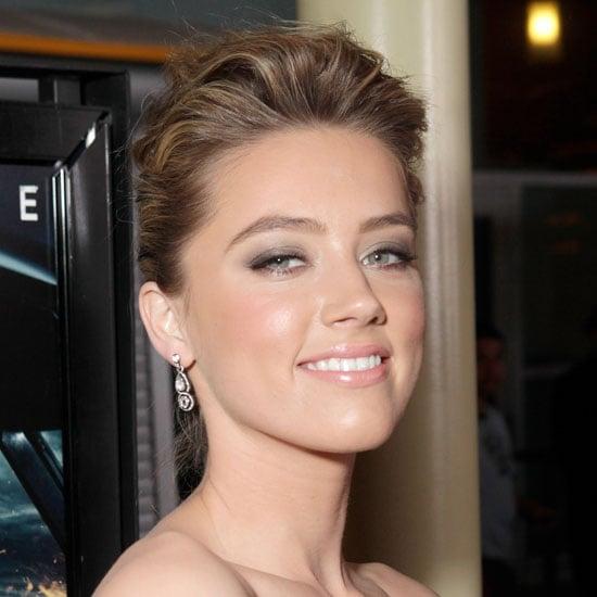 How To Wear Amber Heard S Bronzed Makeup Look Popsugar