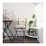 Socker White Plant Stand ($35)